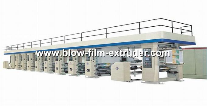 Alta velocidade de impressão em rotogravura máquina de impressão da máquina