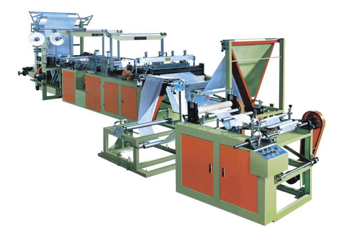 Continuous roling Garbage Bag Making Machine