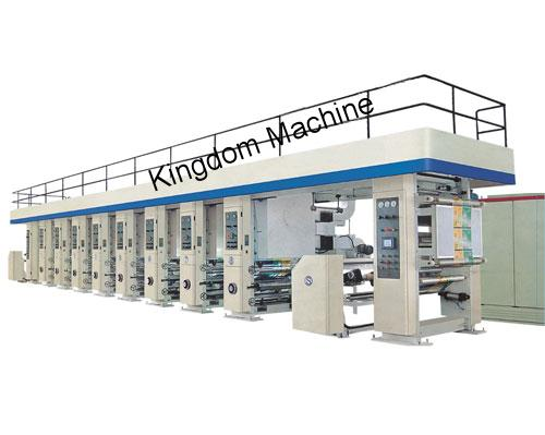 High-Speed Rotogravure Printing Machine Printing Machine